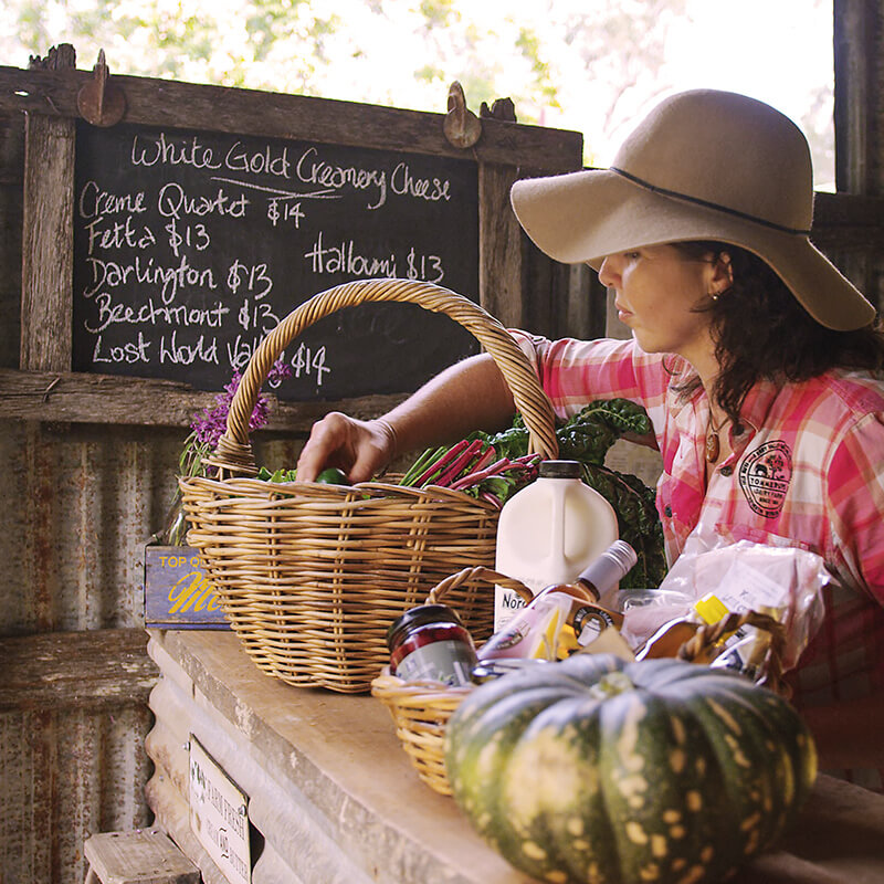 greenlee-cottages-local-food